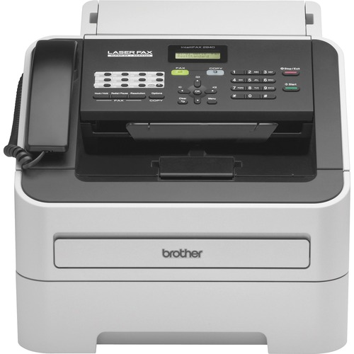 Brother IntelliFAX FAX-2940 Laser Multifunction Printer - Monochrome - Plain Paper Print - Desktop BRTFAX2940