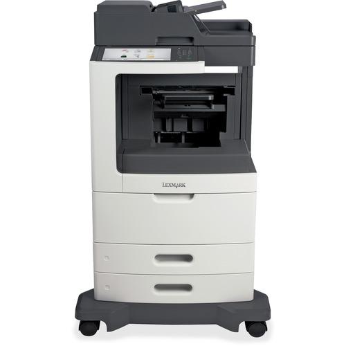 Lexmark MX811DE Laser Multifunction Printer Monochrome Plain Paper Print Desktop