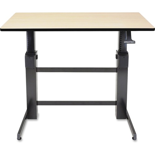 Ergotron WorkFit-D, Sit-Stand Desk (Birch Surface) Deal