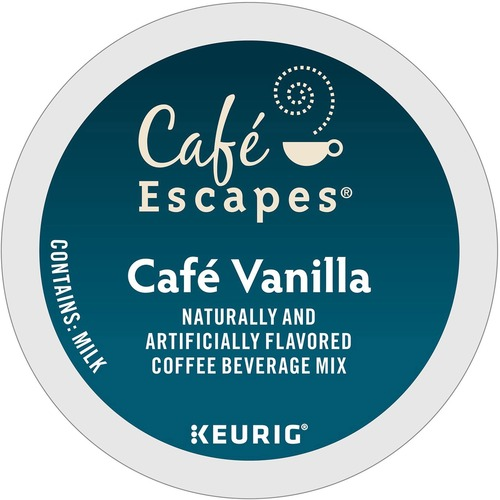 Keurig K-Cup Cafe Escapes Cafe Vanilla, 24/Pack GMT6812