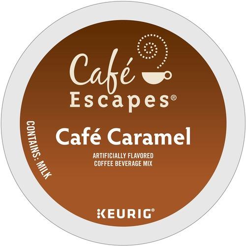 Keurig K-Cup Cafe Escapes Cafe Caramel, 24/Pack GMT6813