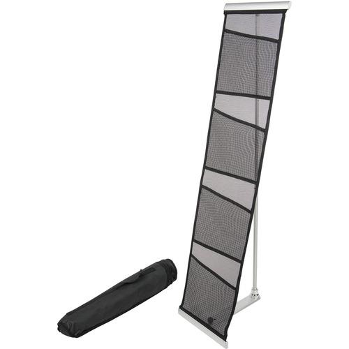 Deflect-o 4 Compartment Mesh Floor Display DEF780172-BULK