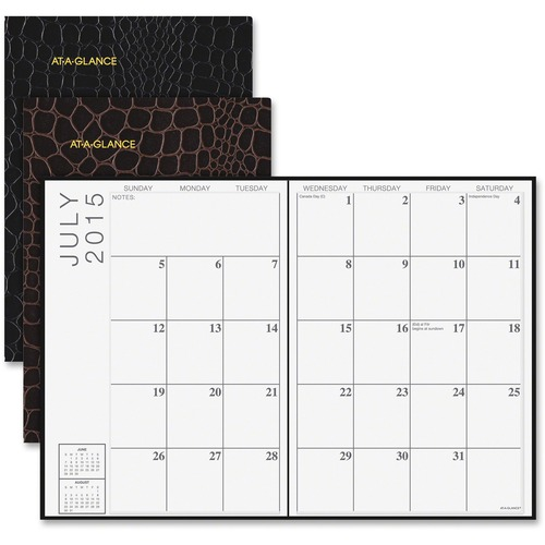 At-A-Glance 2PPW Designer Monthly Planner AAG7046300