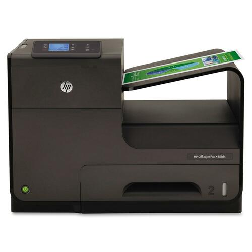 HP Officejet Pro X X451DN Inkjet Printer - Color - 2400 x 1200 dpi Print - Plain Paper Print - Desktop HEWCN459A