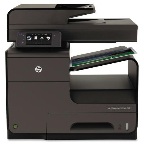 HP Officejet Pro X476 X476DN Inkjet Multifunction Printer - Color - Plain Paper Print - Desktop HEWCN460A