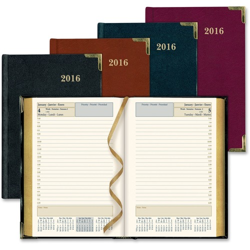 Rediform Bonded Leather Daily Executive Planner REDCBE504ASX