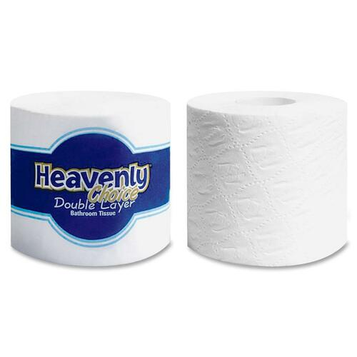 Heavenly Choice 410010 Bathroom Tissue 500 Sheets - Double Layer - 96 Rolls STF410010