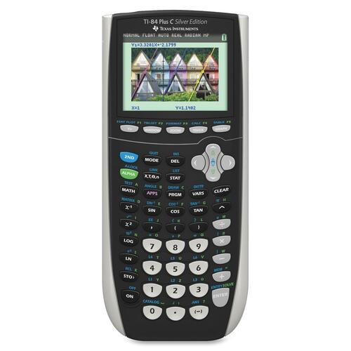 Texas Instruments TI84 Plus C Color Graphing Calculator TEXTI84PLUSCSE