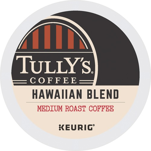 Tully's Coffee Tropical Fruity Hawaiian Blend K-Cup Pack GMT6606
