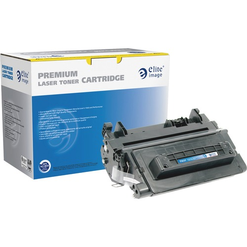 Elite Image MICR Toner Cartridge - Remanufactured for HP (CE390A) - Black ELI75637