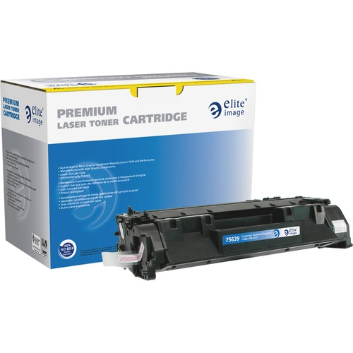 Elite Image MICR Toner Cartridge - Remanufactured for HP (CF280A) - Black ELI75639