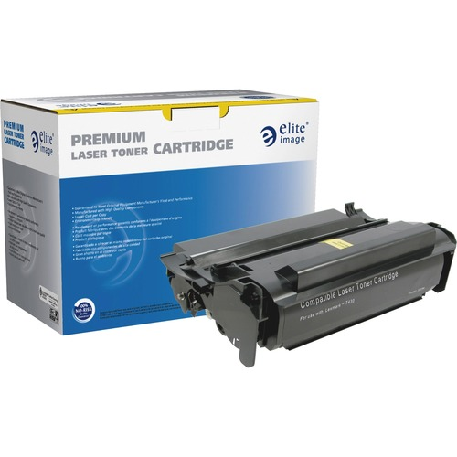 Elite Image Toner Cartridge - Remanufactured for Lexmark (12A8425) - Black ELI75646