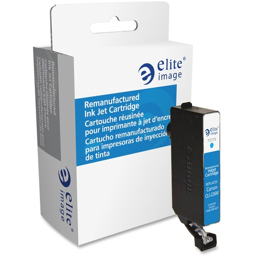 Elite Image Ink Cartridge - Remanufactured for Canon (CLI226CY) - Cyan ELI75779