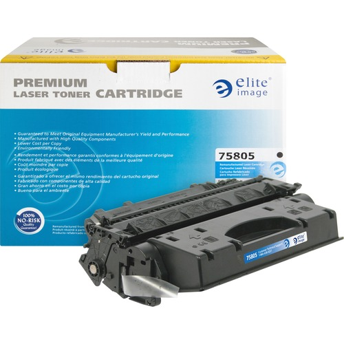 Elite Image Toner Cartridge - Remanufactured for HP (CF280X) - Black ELI75805