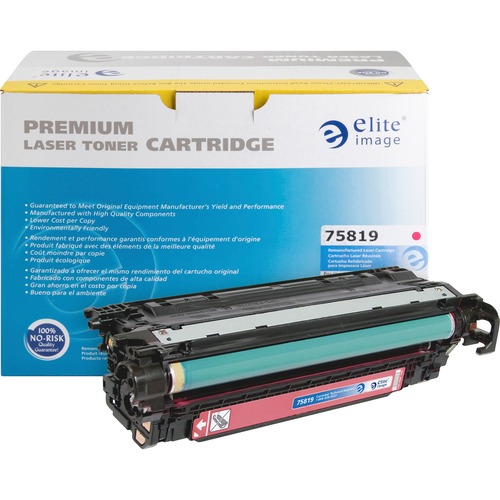 Elite Image Toner Cartridge - Remanufactured for HP (CE403A) - Magenta ELI75819