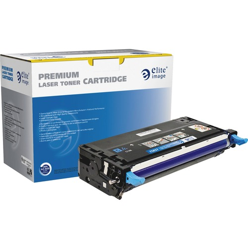 Elite Image Toner Cartridge - Remanufactured for Dell (330-1199) - Cyan ELI75837