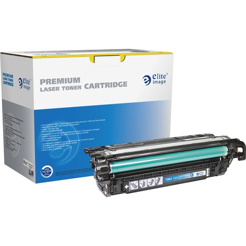 Elite Image Toner Cartridge - Remanufactured for HP (CE264X) - Black ELI75863
