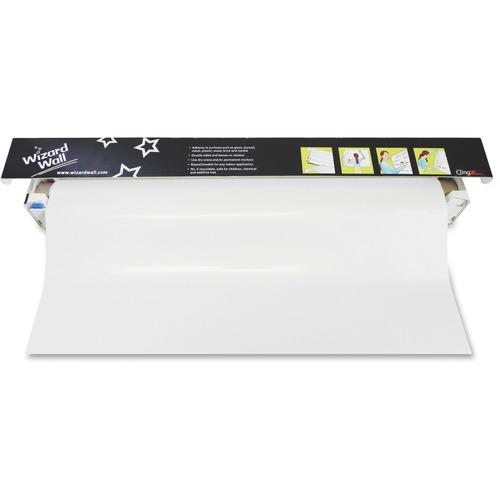 "Wizard Wall 13"" Dry-Erase Static Cling Film System WZW1325SBW"