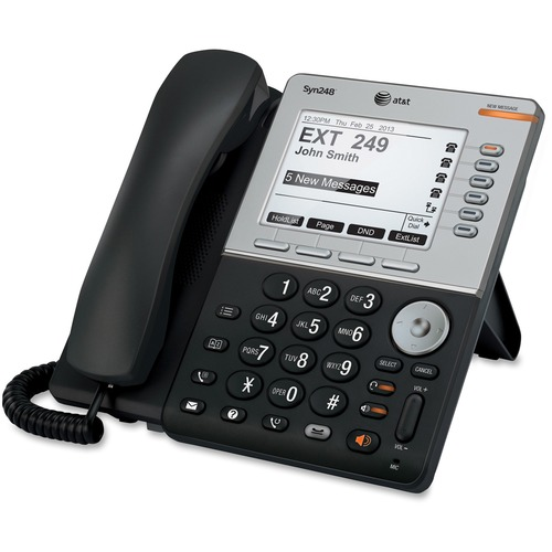 Extra Large Buttons ATT-CL2940 Phone with Display AT/&T Corded Speakerphone