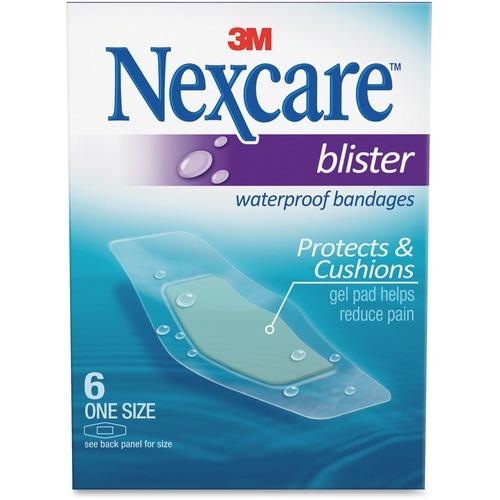 Nexcare Blister Waterproof Bandages MMMBWB06-BULK