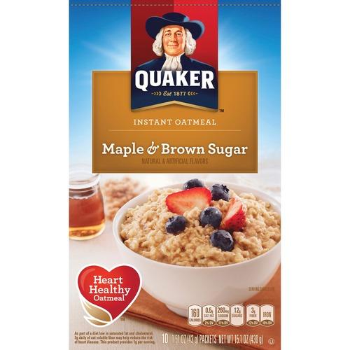 Quaker Oats Foods Instant Oatmeal QKR01190