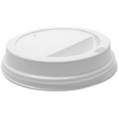 Starbucks Dome-Design Hot Cup Lids, Fits 12oz Cups, White, 1000/Carton SBK1117280