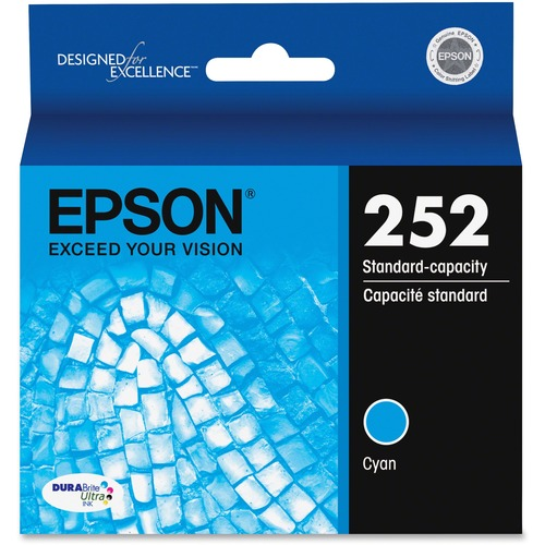 Epson DURABrite Ultra T252220 Ink Cartridge - Cyan EPST252220