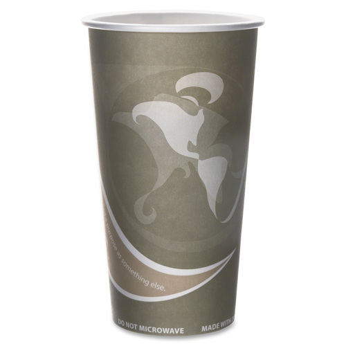 Eco-Products Evolution World PCF Hot Cups ECOEPBRHC20EW-BULK