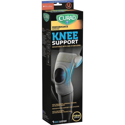 Curad Microban Knee Support MIIORM23330D-BULK