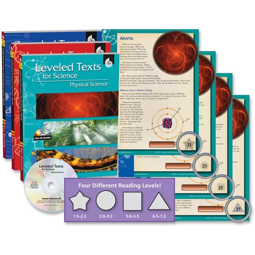 Shell Leveled Texts for Science: 3-Book Set Education Printed/Electronic Book for Science SHL50587