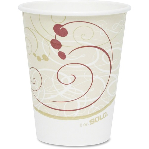 Solo Single-sided Poly Hot Cups SCC378SMJ8000PK