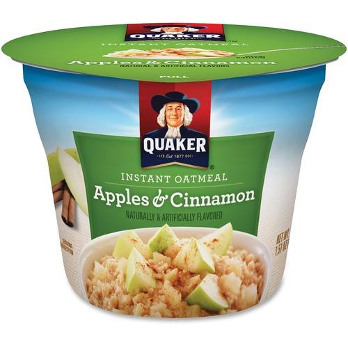 Quaker Oats Apple Cinnamon Instant Oatmeal Cup QKR31973