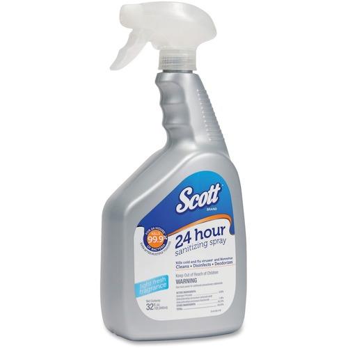 Scott 24 Hour Sanitizing Spray KCC36700CT