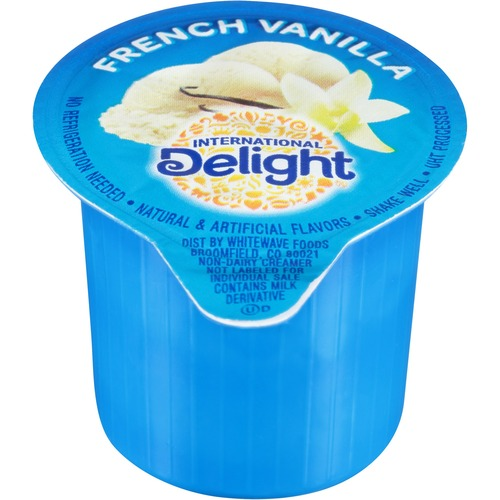 International Delight French Vanilla Creamer Singles ITD100708