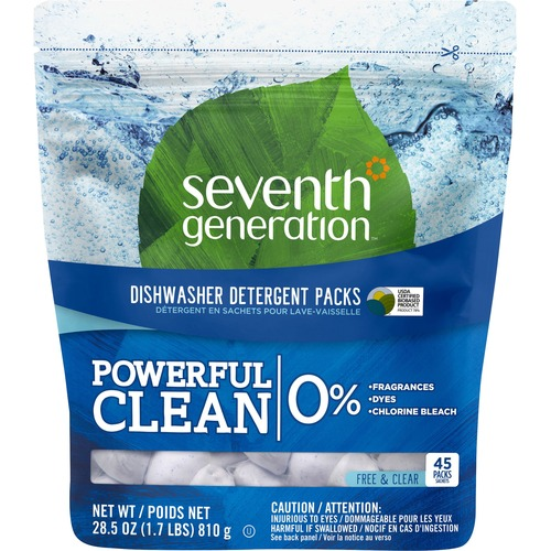 Seventh Institution Natural Dishwasher Detergent Packs