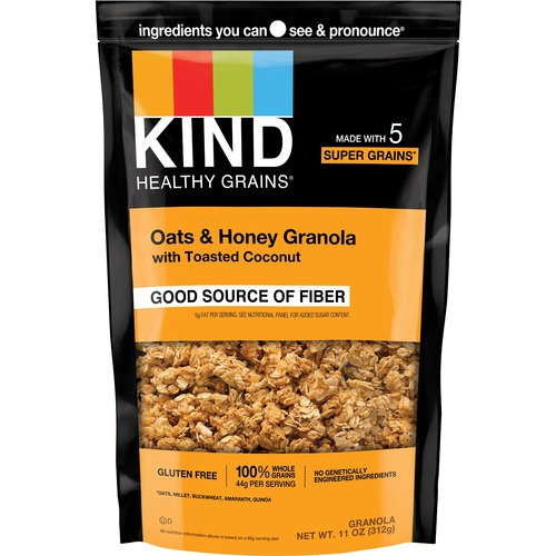 KIND Healthy Grains Oats/Honey Clusters Snack
