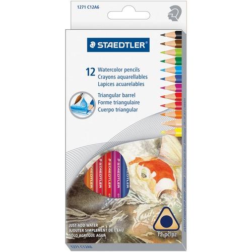 Staedtler Watercolour Pencils Set STD1271C12A6-BULK