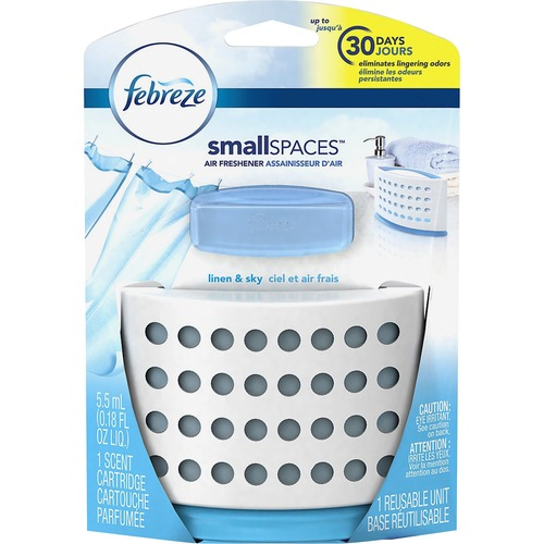 Febreze Set & Refresh, Linen & Sky, 5.5 ml, Kit, 8/Carton PGC90189