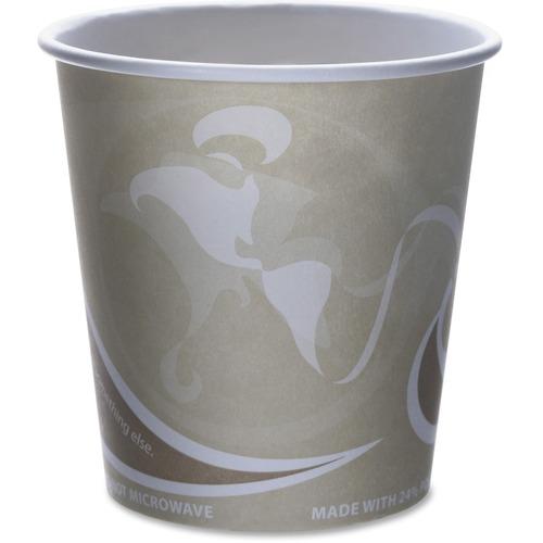 Eco-Products Evolution World PCF Hot Cups ECOEPBRHC10EWCT