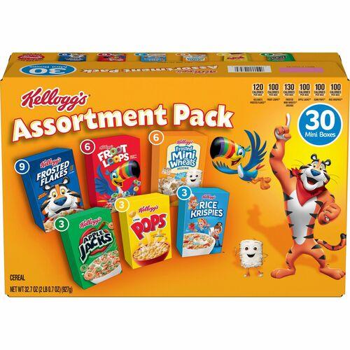 Kellogg's Mini Cereal Assortment Pack KEB14746