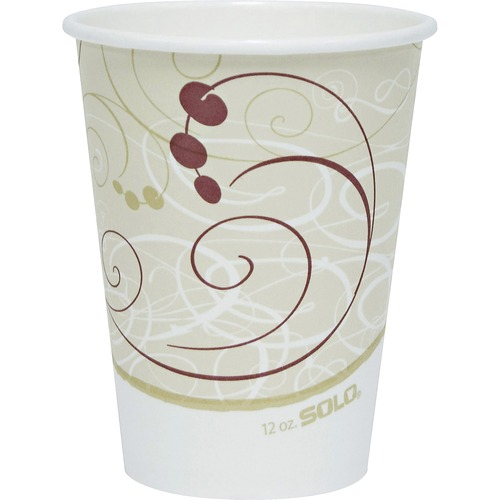 Solo Single-sided Poly Hot Cups SCC412SMJ8000CT
