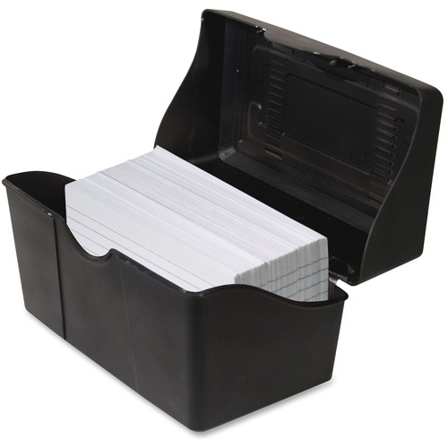 "Advantus Index Card Holders, 3""x5"", Black AVT45001-BULK"