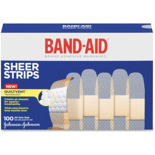 Johnson &Amp; Johnson Joj4634 Band-Aid- Brand Adhesive Bandages- .75in.- JOJ4634