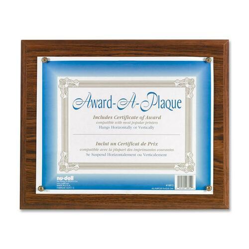 Nu-Dell Award-A-Plaque NUD18812M