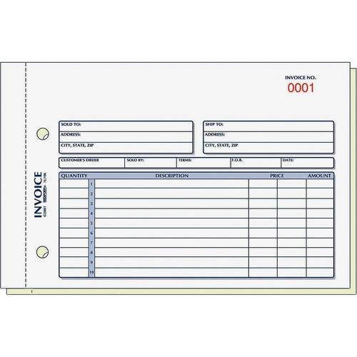 Rediform Invoice Form