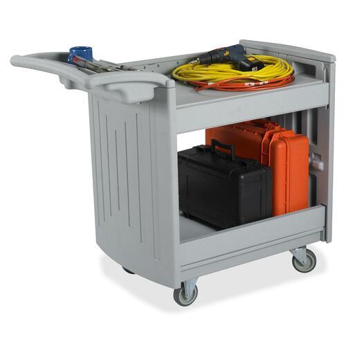 Safco Two-Shelf Utility Cart SAF5330GR-BULK