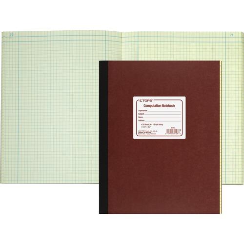 TOP35126-BULK TOPS Computation Notebook