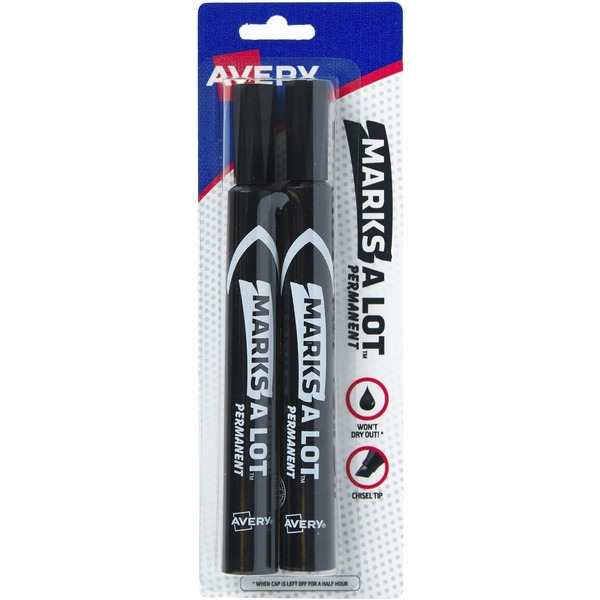 Avery Avery® Large Desk Style Permanent Markers