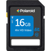 16gb Polaroid High Speed Sdhc Cl10 Card / Mfr. no.: P-SDHC16G10-EFPOL
