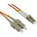 Image of 0.5m Cables Direct Fibre Optic Network Cable OM2 LC - SC